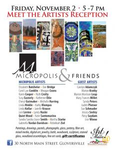 Invitational and Art Opening at Micropolis Gallery
